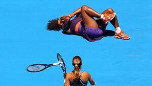 Serena Williamsa büyük şok