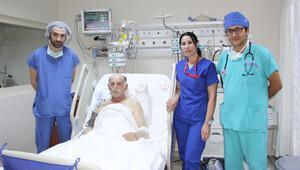 Kalbi bir saatte 40 kez duran hastanın mucize kurtuluşu