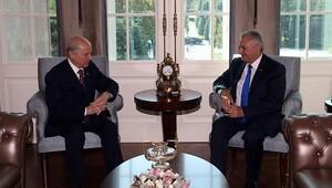 Başbakan Yıldırım ile Devlet Bahçeli görüştü