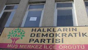 HDP VE DBP Muş İl Eş Başkanları gözaltına alındı