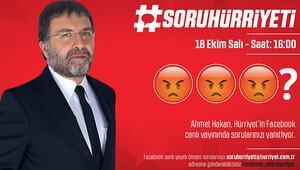 #SoruHürriyetinin bugünkü konuğu Ahmet Hakan