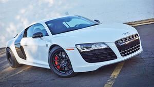 Audi R8 100 km hıza iki saniyede ulaşıyor