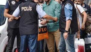 Antalyada FETÖden gözaltına alınan polisler adliyede