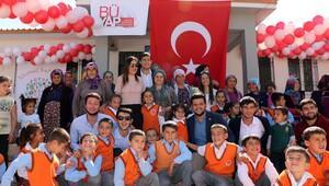 Öğrenciler, Adıyaman Besni'de okul yaptırdı