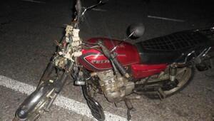 Motosiklet ata çarptı: 1i ağır, 2 yaralı