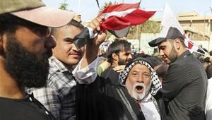 Sadr yanlılarından Bağdatta Türkiye karşıtı gösteri