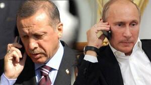 Erdoğan ve Putin arasında kritik görüşme