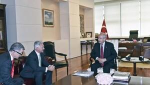 Kılıçdaroğlu, İngiliz Bakan Alan Duncan ile görüştü
