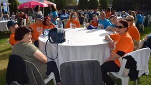 Polis vatandaşla piknik yaptı