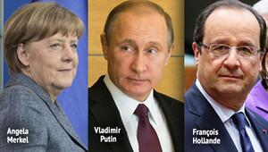 Merkel, Putin'i, Berlin'deki zirvede ikna edebilecek mi