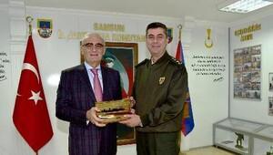 Başkan Yılmaz, İl Jandarma Komutanına ziyaret etti