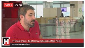 #muhabirindenin bugünkü konuğu Ali Naci Küçük