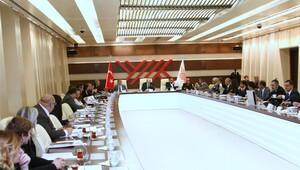 YÖK'te, uyuşturucuya karşı mücadele toplantısı yapıldı