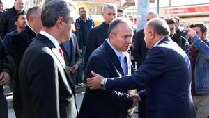 Bakan Işık, Müsteşarı Fidanın babasının cenazesine katıldı
