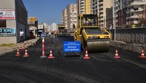 Eş Başkan Anlı, asfalt çalışmalarını denetledi