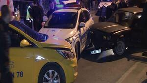 Bağdat Caddesinde Dur ihtarına uymayan sürücü kovalamaca sonucu yakalandı