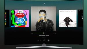 Samsung Smart TV'lere Spotify dopingi