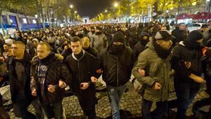 Fransız polisi, dördüncü kez sokağa çıktı