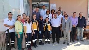 Hayırsever ve belediye işbirliğinde sağlık hizmeti