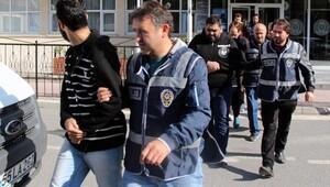 Sahte oturma belgesi düzenleyen 11 Iraklı adliyeye sevk edildi