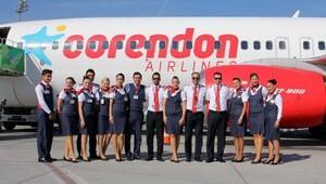 Corendon Airlines 100 bininci kez uçtu