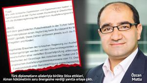 'Diplomatik pasaportlu 35 Türk Almanya'ya iltica etti'