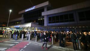 Londra'daki havalimanında kimyasal alarm