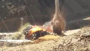 Kato Dağındaki tuzak böyle imha edildi