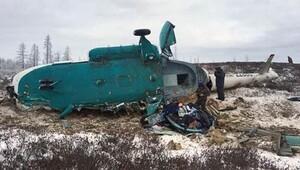 Rusyada helikopter kazası: 19 ölü