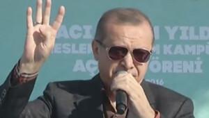 Erdoğandan Bursada önemli açıklamalar