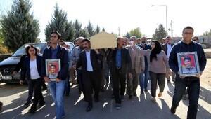 HDP Milletvekili Nursel Aydoğan, PKKlının cenazesine katıldı