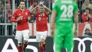 Bayern Münih ilk yarıda işi bitirdi