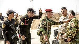 Irak askeri ile Peşmerge arasında gergin anlar...