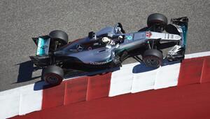 Lewis Hamilton 50. kez kazandı