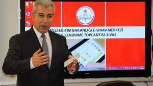 Sivas'a e-sınav merkezi kuruldu