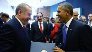 Erdoğan ve Davutoğlu Obamaya bu hediyeleri vermiş