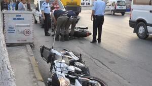 Sökede motosiklet hırsızlığına teşebbüs