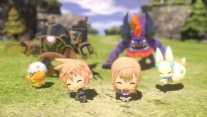 World of Final Fantasy çıkıyor