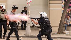 Yüzüne gaz fişeği isabet eden kadına 25 bin lira