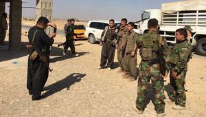 PKK ve Peşmerge, Kerkükte böyle poz vermiş