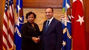 Bozdağ, ABD Adalet Bakanı Lynch ile görüştü