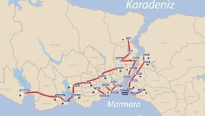 İstanbulun altına 145 km. uzunluğunda yeni 17 ayrdı tünel geliyor...