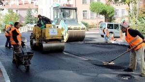 Çankayada asfalt sezonu bitmiyor