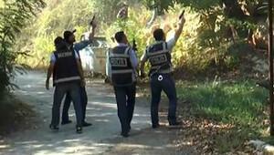 Polisler silahlarını çekti... Böyle gittiler