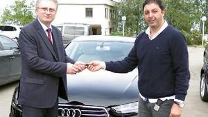 Trabzonspora 12 yeni otomobil
