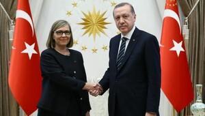 Cumhurbaşkanı Erdoğana Finlandiya Büyükelçisinden güven mektubu