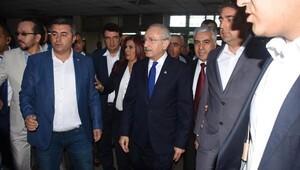 Kılıçdaroğlu, saldırıya uğrayan Bülent Tezcanı hastanede ziyaret etti