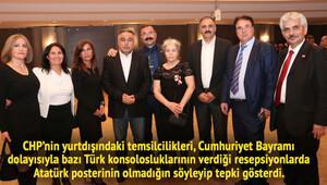 CHP'nin yurtdışı teşkilatlarından fotoğraf tepkisi