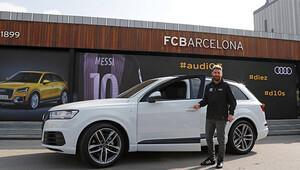 Barcelonalı futbolcular Audilerine kavuştular