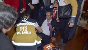 CHPli Tezcana yönelik saldırıyla ilgili 2 şüpheli adliyede